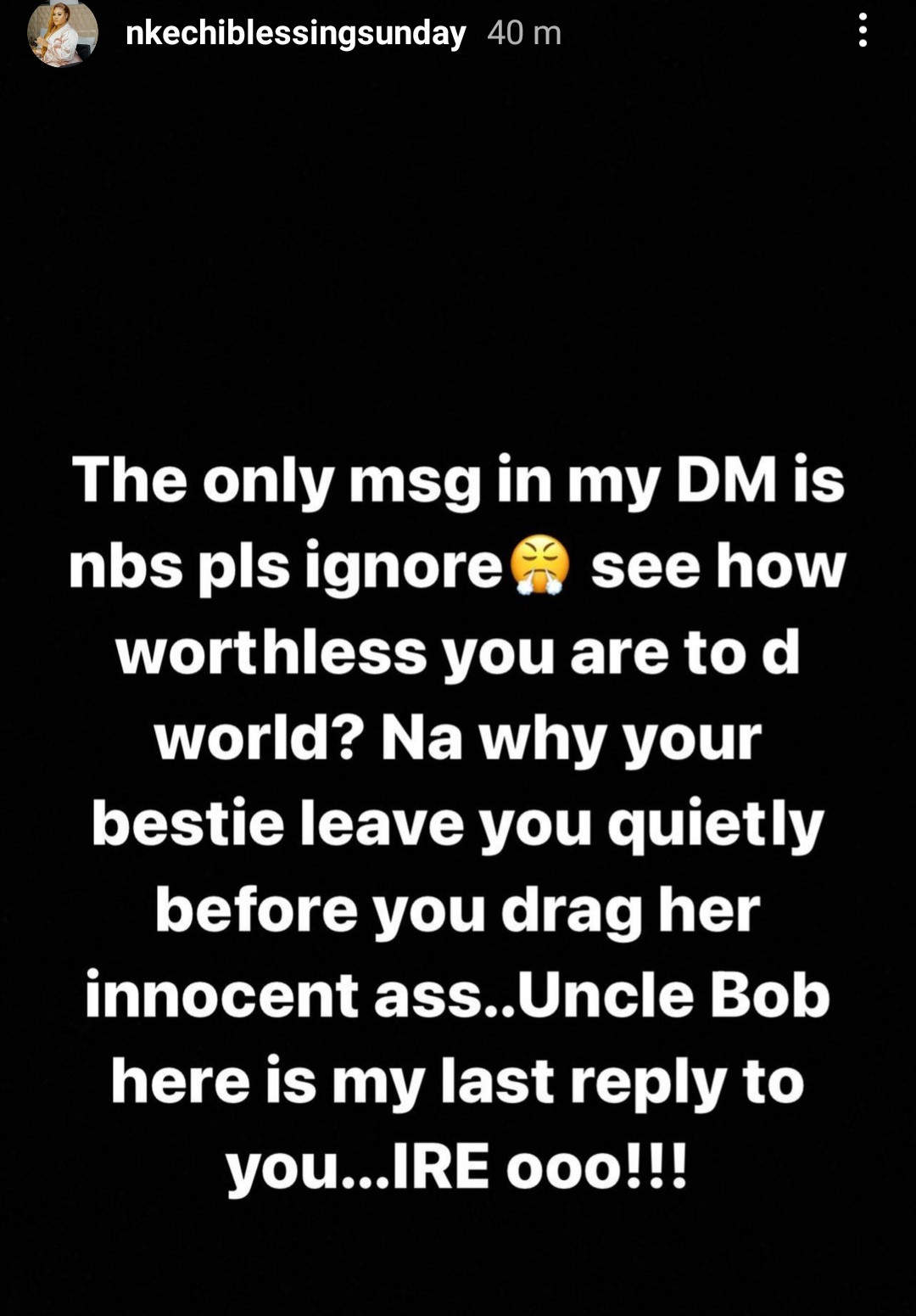 """""""My leaked a**hole has given me what your generation can't afford"""" - Bobrisky and Nkechi Blessing Sunday continue dragging each other"""
