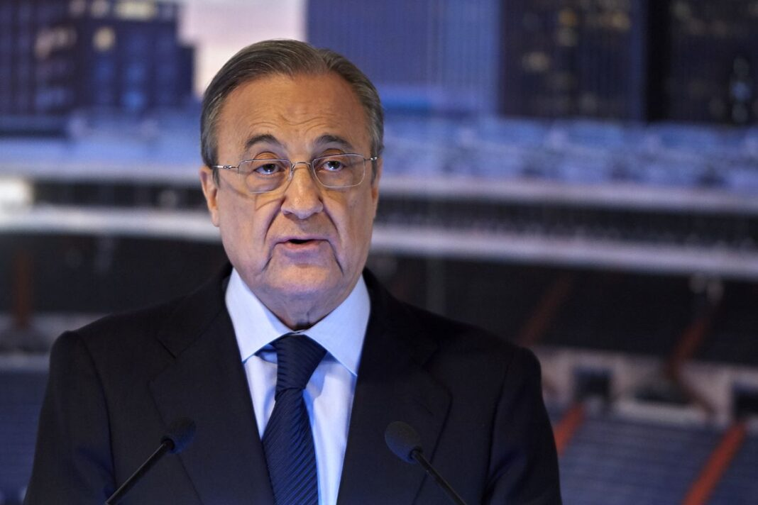 Real Madrid president, Florentino Perez contracts COVID-19
