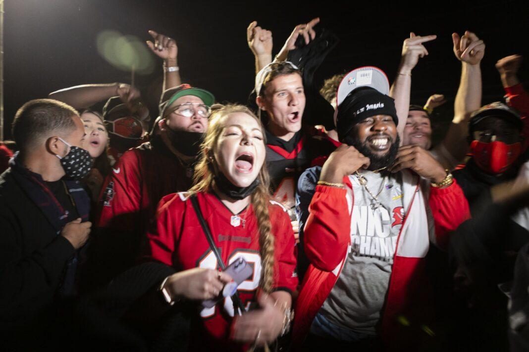 Tampa's Maskless Super Bowl Celebration Leads To Super Spreader Fears
