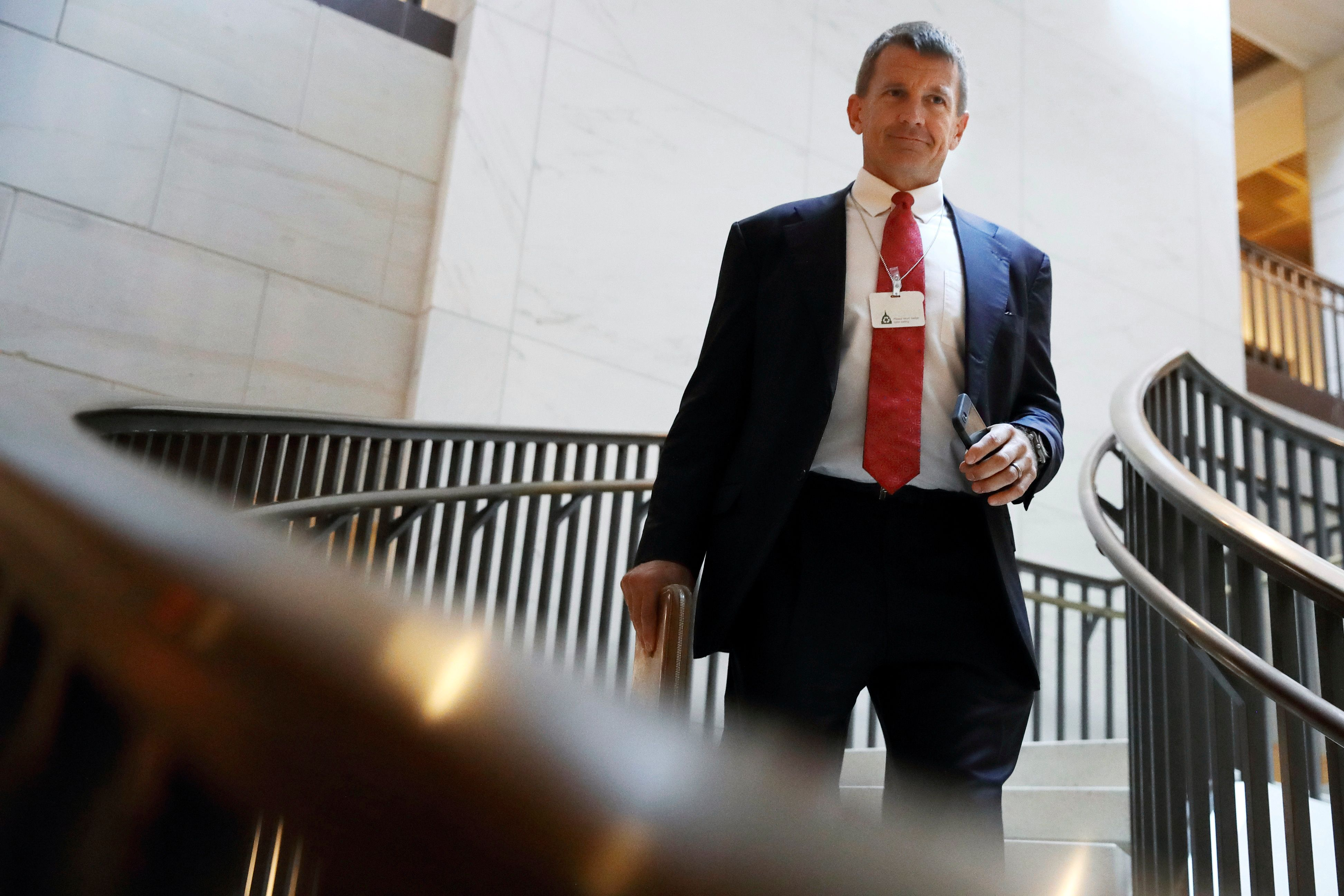 Blackwater founder Erik Prince, the brother of former Education Secretary Betsy DeVos, had been connected to the Donald Trump