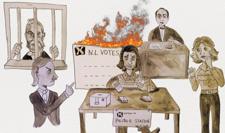 An animated history of elections gone sideways in N.L.