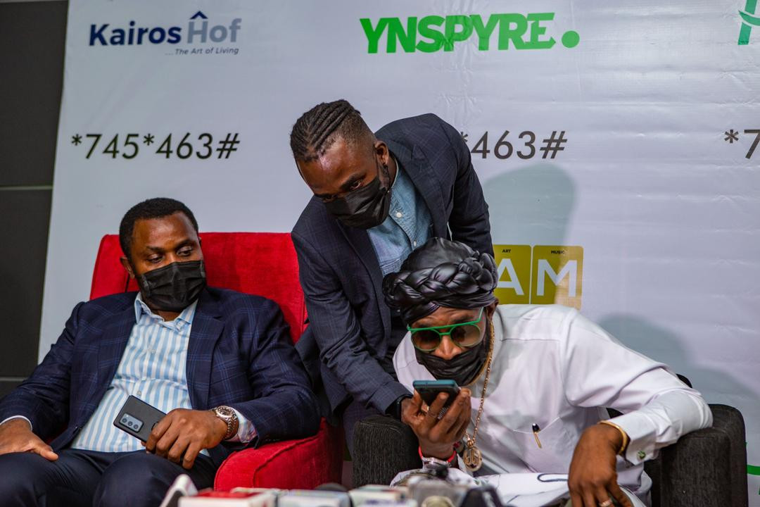 D'banj's Cream Platform And Heritage Bank Fulfil Its Promises, Gives Out Millions To Fans At March 2021 Draws lindaikejisblog6