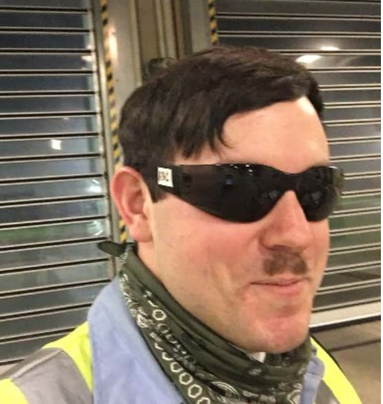 Timothy Hale-Cusanelli, who has been charged in Capitol riot, sported a Hitler mustache in a photo submitted by federal prose