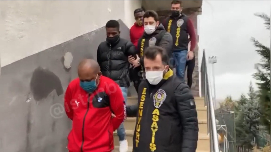 Nigerians arrested as hard drugs are found in their houses during raid in Istanbul