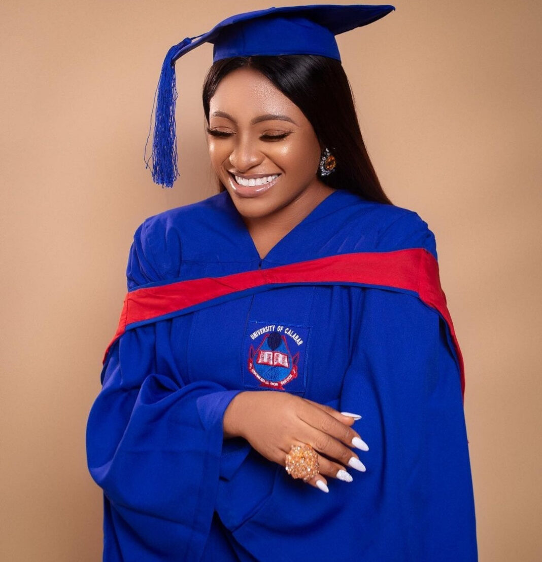 Nursing mum who sat for exam while heavily pregnant becomes first and only graduate with First Class in her department's history in Unical