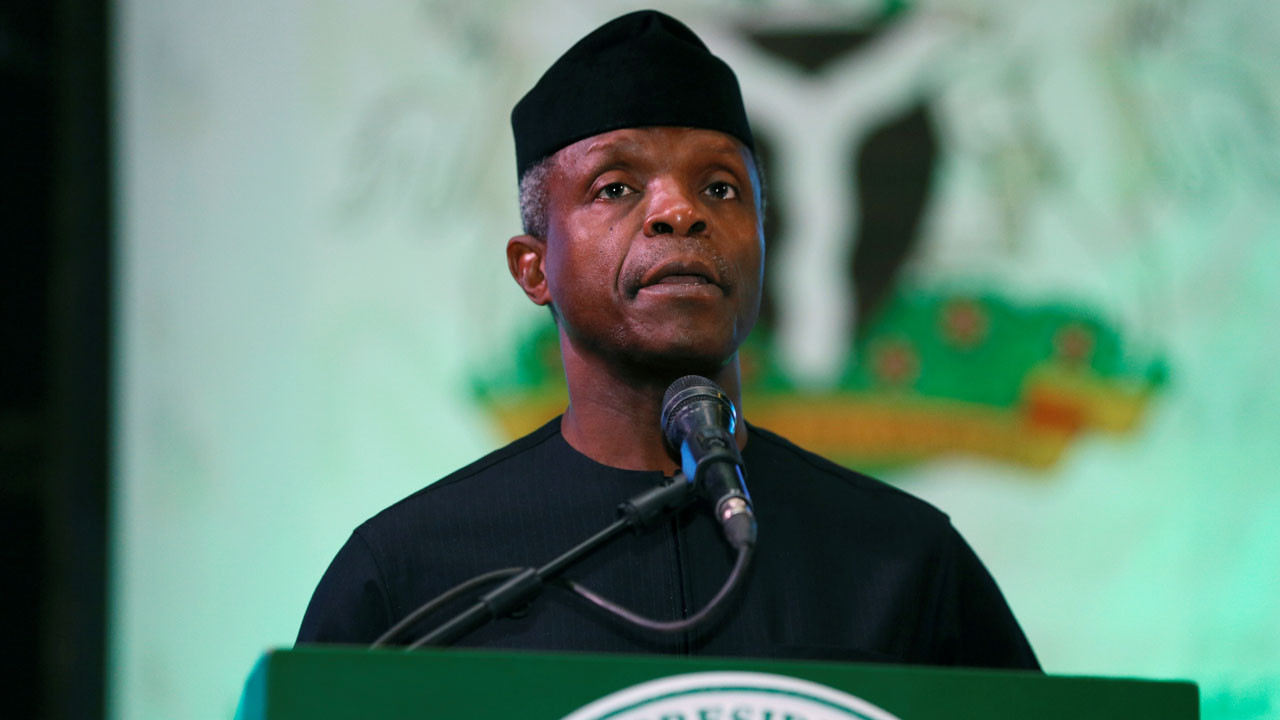 Politicians have a lot to learn from church leaders - Osinbajo