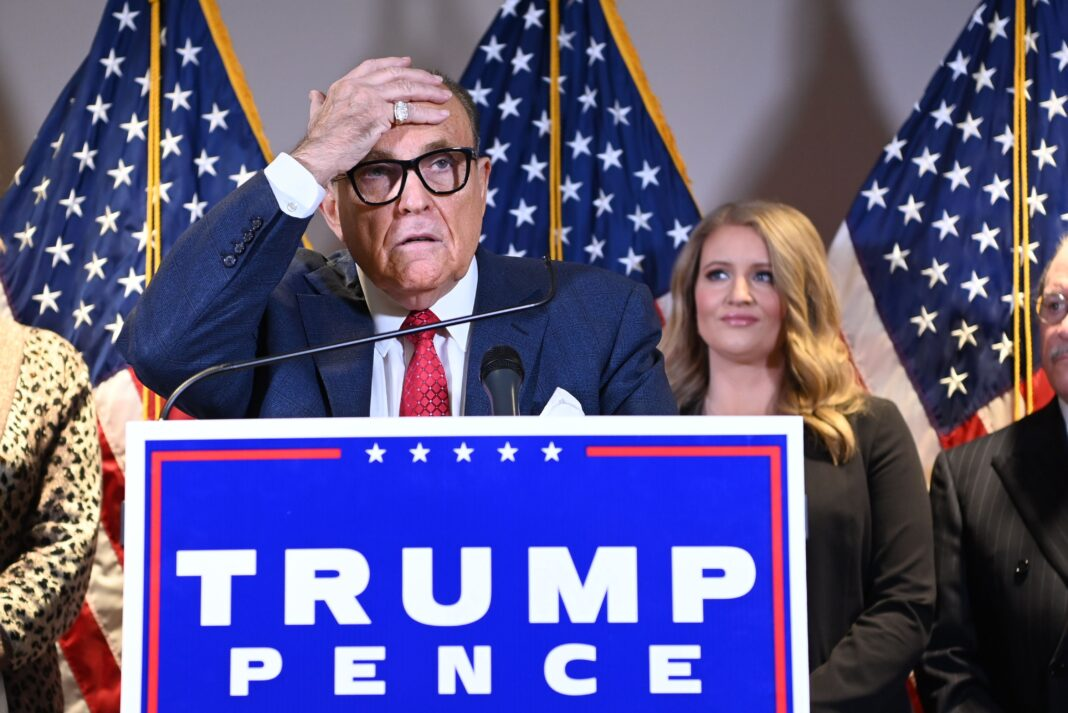 Rudy Giuliani Tried To Sic Cops On 'Borat' Crew After Humiliating Scene, Says Producer