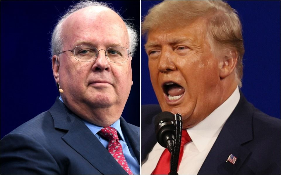 Trump Goes Full Cancel Culture As He Angrily Demands Fox News Fire Karl Rove