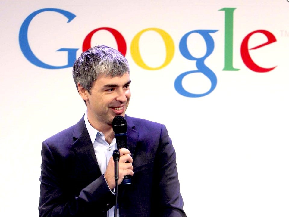 10 Things you can learn from Larry Page founders of Google and add to your Business
