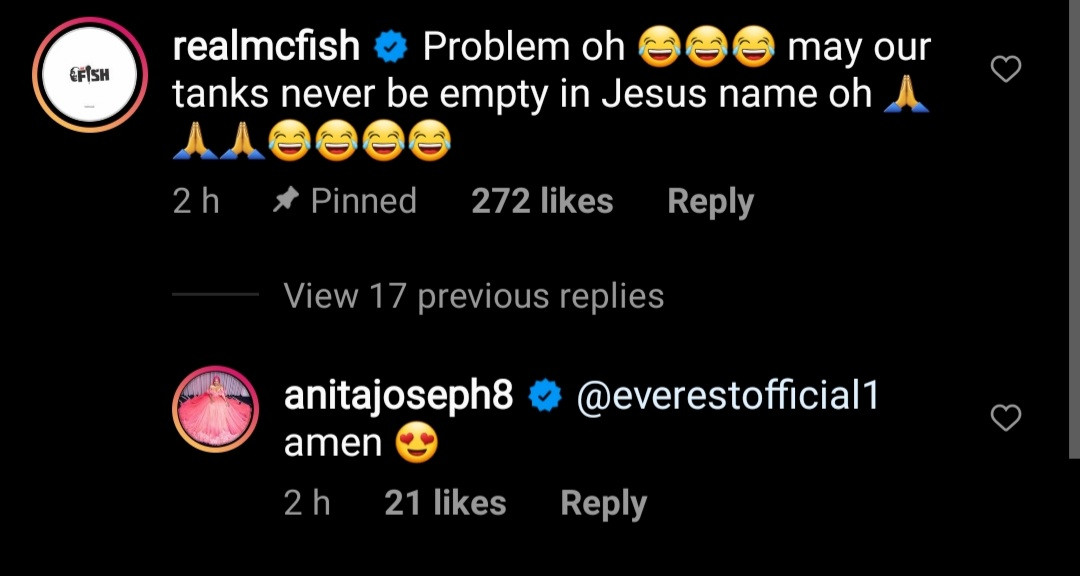 "Actress, Anita Joseph reveals she left a movie set and flew from Enugu to Lagos and back for a ""d*** appointment "" with her husband"