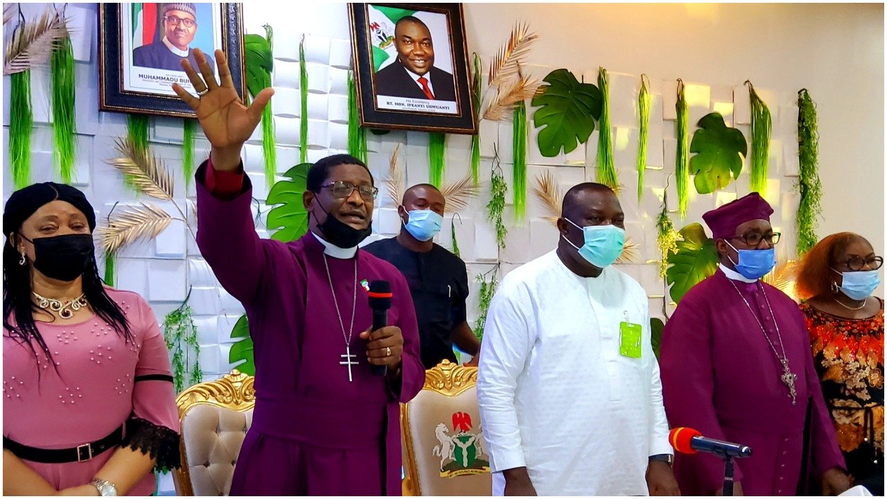 Anglican Primate expresses confidence in Gov Ugwuanyi's leadership qualities