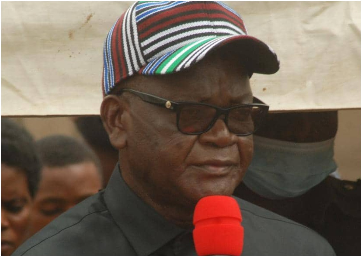 11 slain soldiers Gov Ortom sympathizes with families
