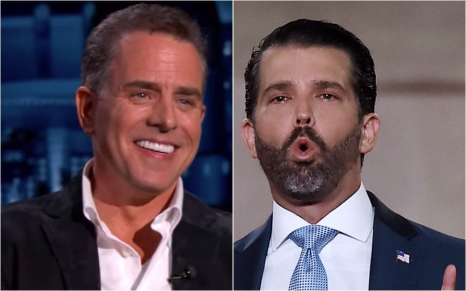 Hunter Biden Laughs Off Donald Trump Jr.'s Attacks With A Witty 1-Liner