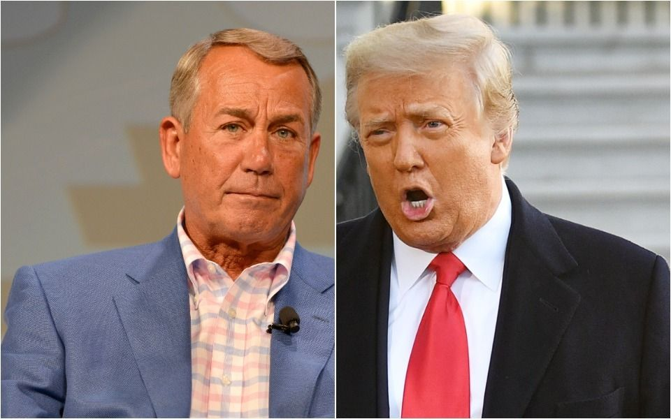 John Boehner Reveals The 'Very, Very Small' Thing That Enraged Trump At Golf Fundraiser