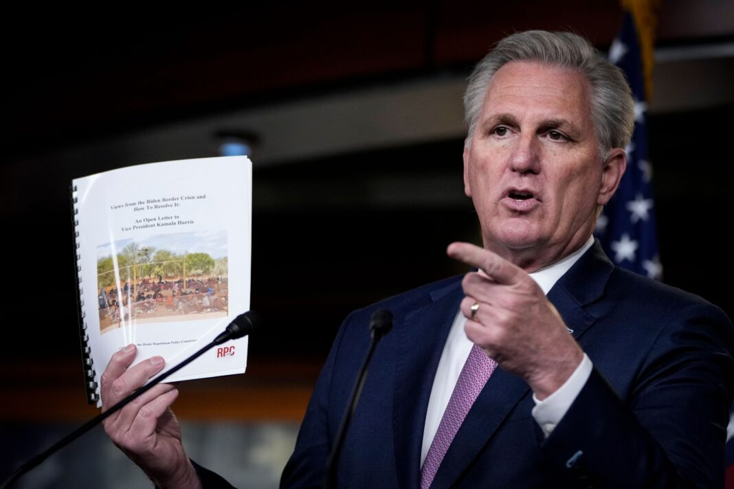 Kevin McCarthy's Hot Take On Joe Biden's Speech To Congress Goes Awry