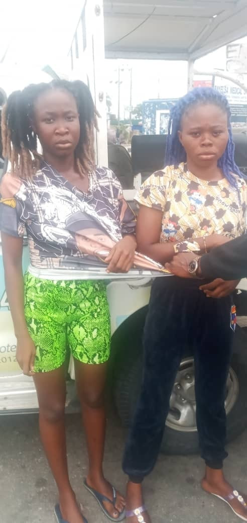 Two women, one other arrested for allegedly robbing 15-year-old girl in Bayelsa