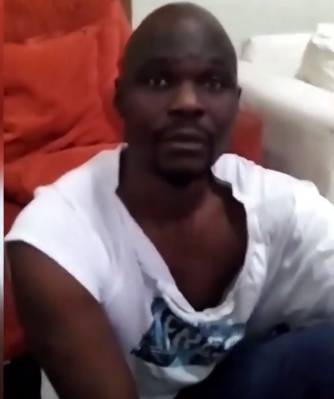 Baba Ijesha, begging for forgiveness after comedian Princess caught him while allegedly attempting to molest her foster daughter