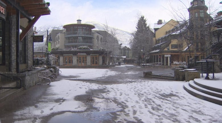 Welcoming visitors is what Whistler does, but for the next 3 weeks the town wants you to stay away