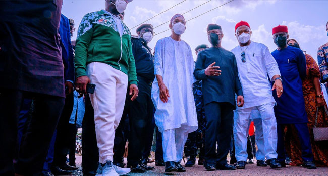 'When you attack police stations and free dangerous criminals, you put men, women and livelihoods at risk' - Osinbajo tells Imo residents