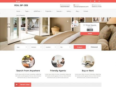 10 Real Estate Wordpress themes for your real estate business