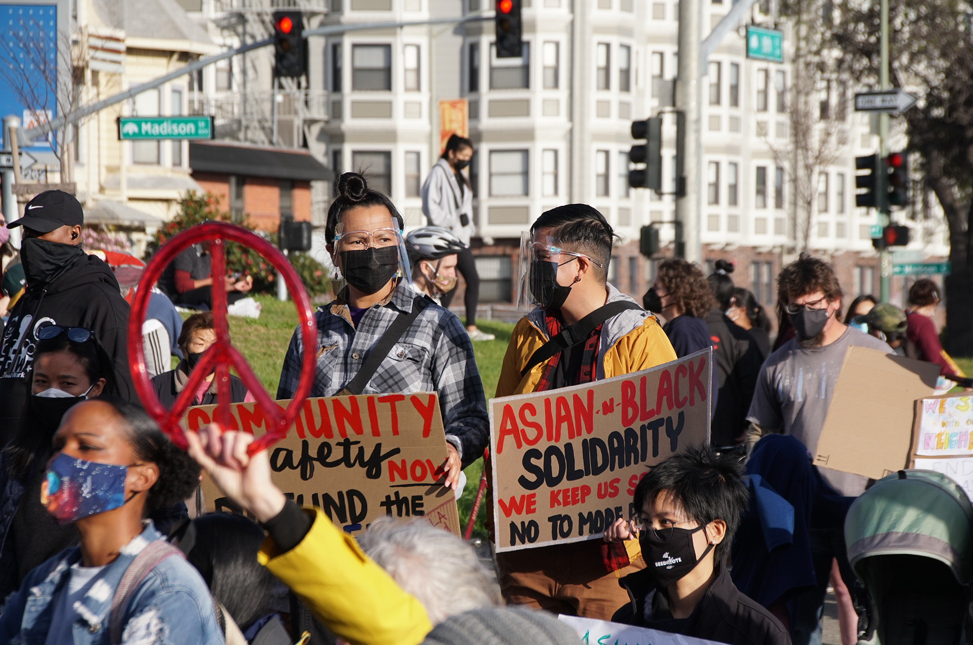 Asian American Activists Want More Than To Not Be Attacked