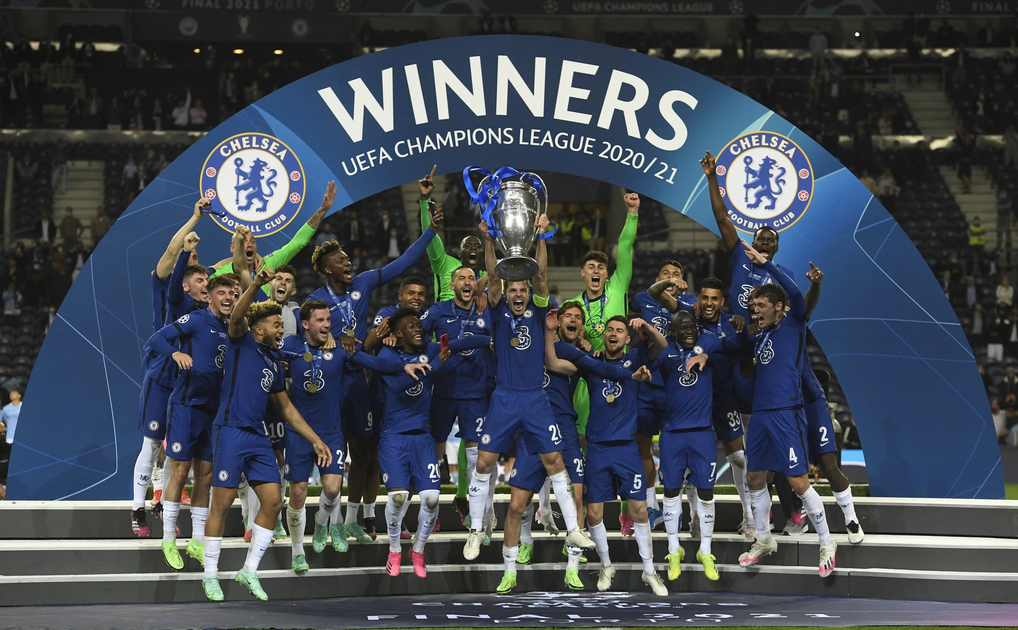 BREAKING: Chelsea defeat Man City to win 2020/2021 Champions League