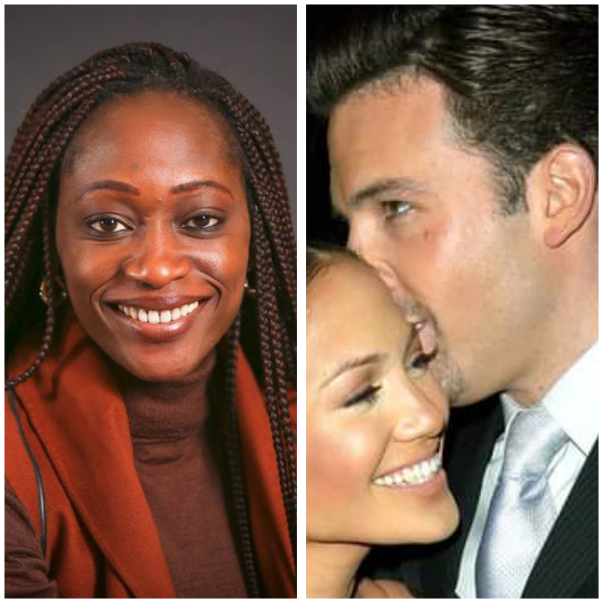 """""""I find it disturbing how quickly she moves from one man to the next"""" - Hafsat Abiola-Costello reacts to Jennifer Lopez and Ben Affleck's reunion"""