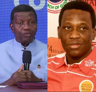 Pastor Adeboye shares photo of a burning candle as his son, Dare, will be laid to rest today