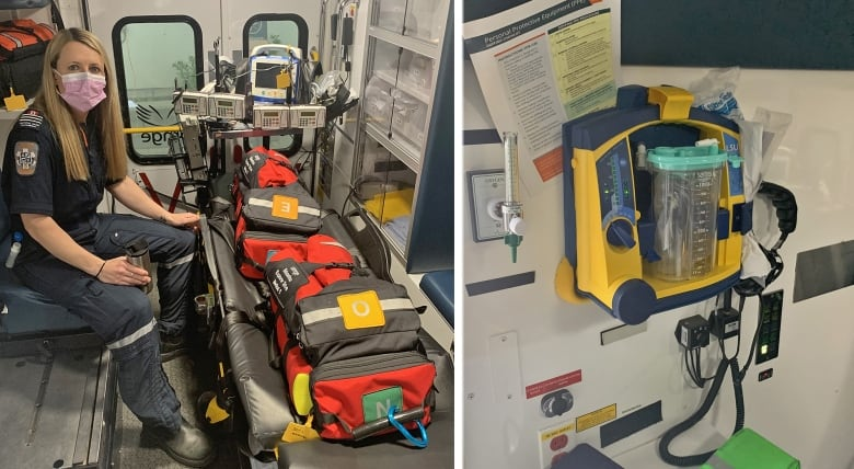 This critical care paramedic worked a week of 12-hour shifts to help keep Ontario's ICUs from overflowing