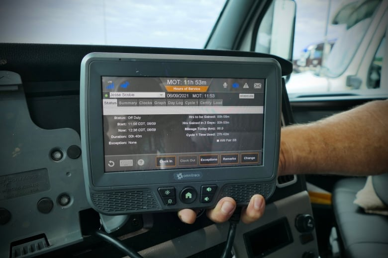 'A great day': Electronic logging devices becoming mandatory in semi trucks in Canada to combat driver fatigue