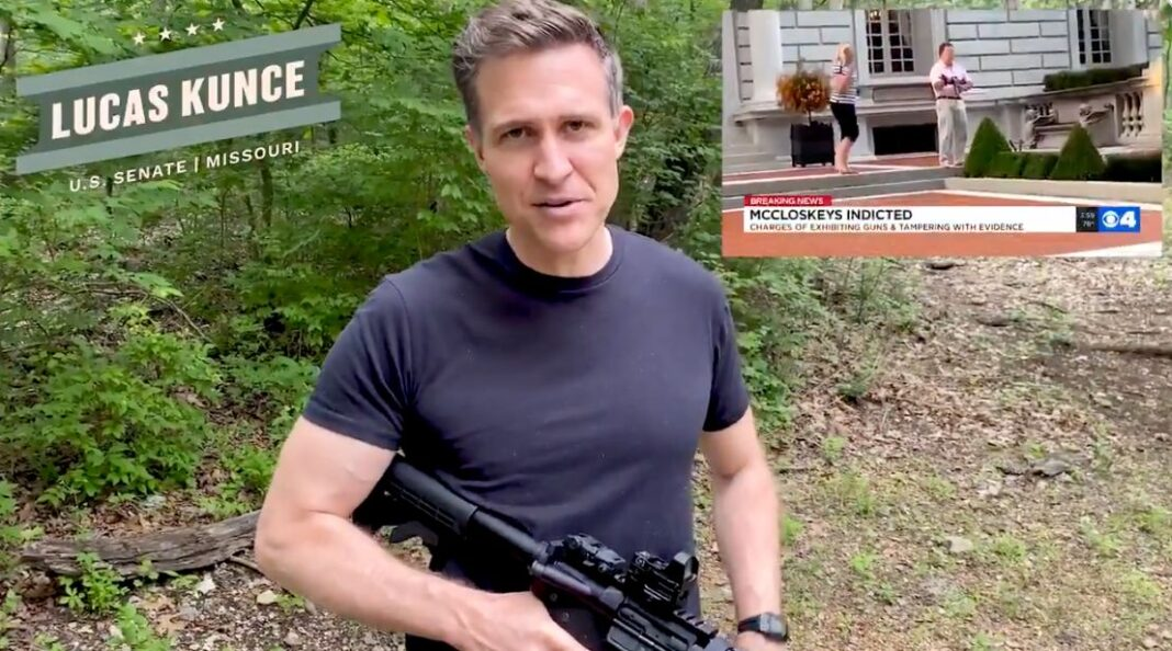 Democratic Senate Hopeful In Missouri Mocks Opponent Who Pointed Gun At BLM Protesters