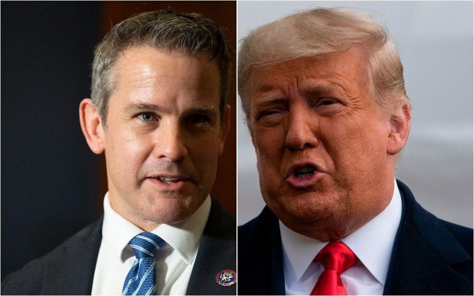 GOP Rep. Adam Kinzinger Uses Trump's Biggest Insult Against Him. Repeatedly.
