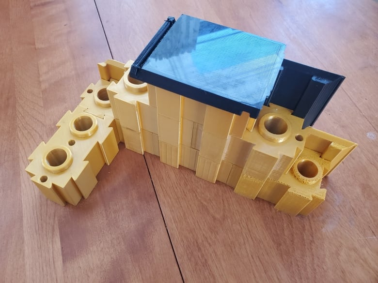 Maritime startup invents Lego-style bricks made from recycled plastic