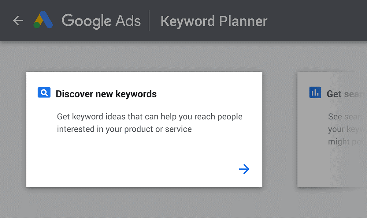 How to use Google keyword planner tool to promote your business