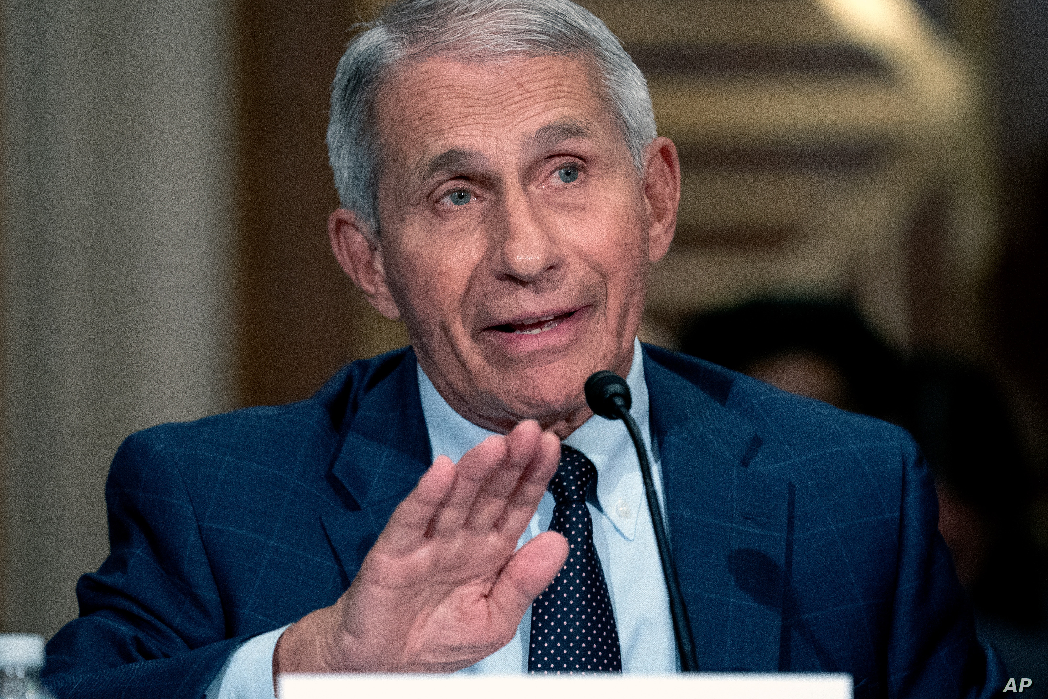 Man arrested for threatening to kill US health expert Dr. Fauci and his family