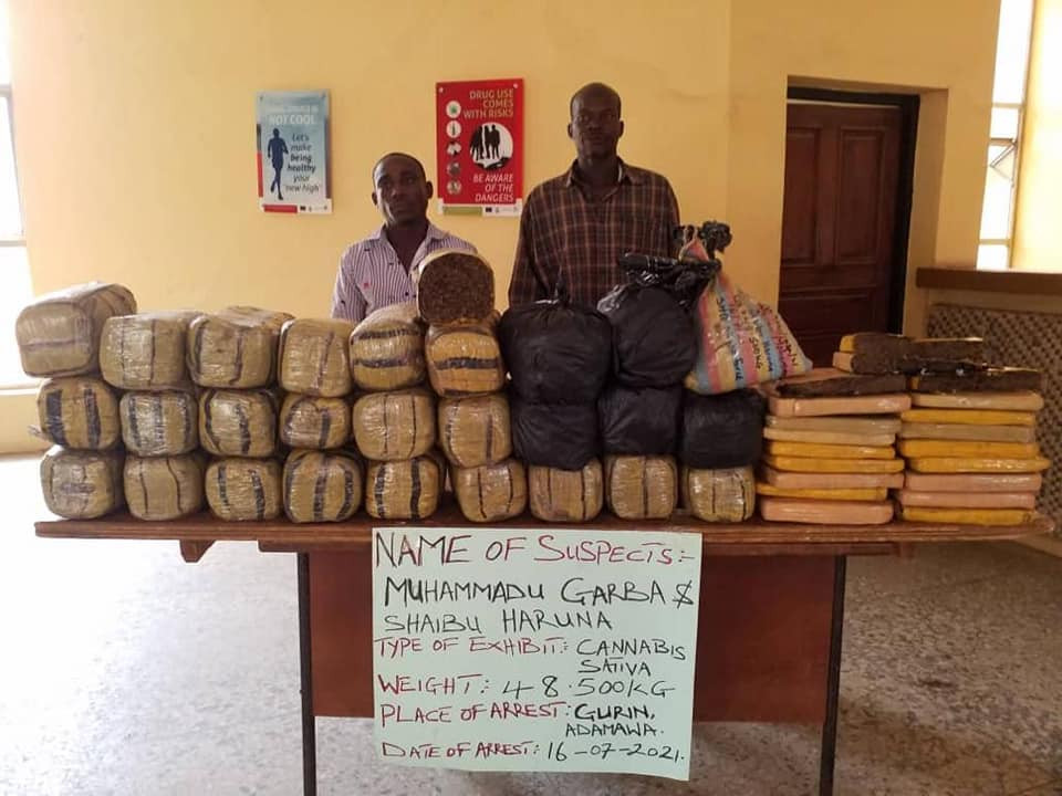 NDLEA arrests Anambra drug kingpin, four notorious interstate traffickers