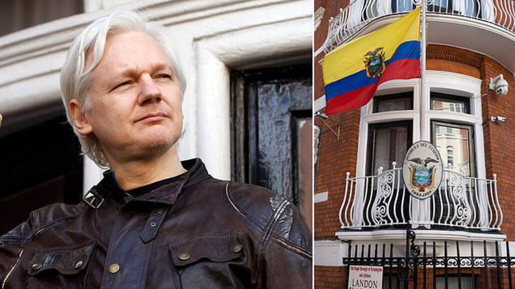 WikiLeaks founder, Julian Assange is stripped of his citizenship by Ecuador over claims of unpaid fees and false documents