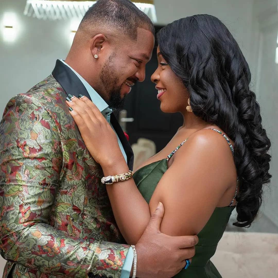 Actor, Walter Anga and wife celebrate 12th wedding anniversary (photos)