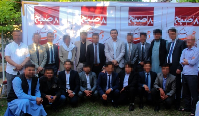 Afghan-Canadian media publisher frustrated by red tape trying to bring staff, family to safety
