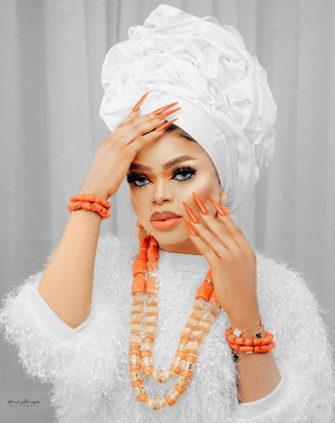 Bobrisky releases new photos ahead of his birthday