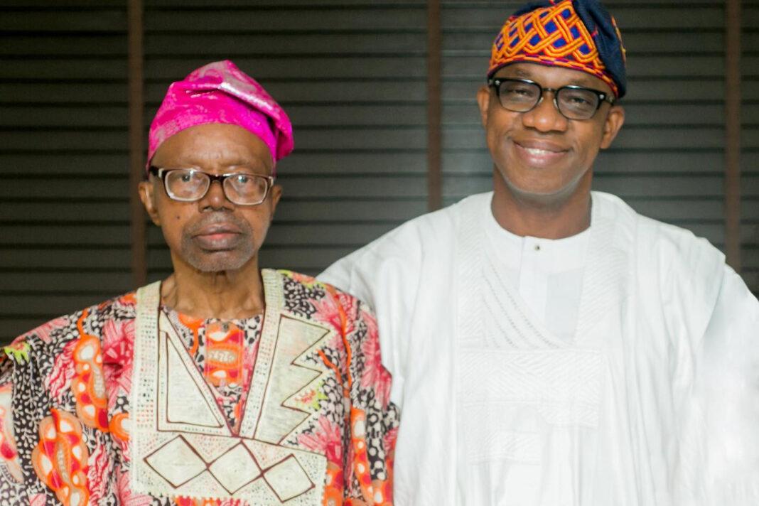 Ogun state governor, Dapo Abiodun, loses dad, Very Panful