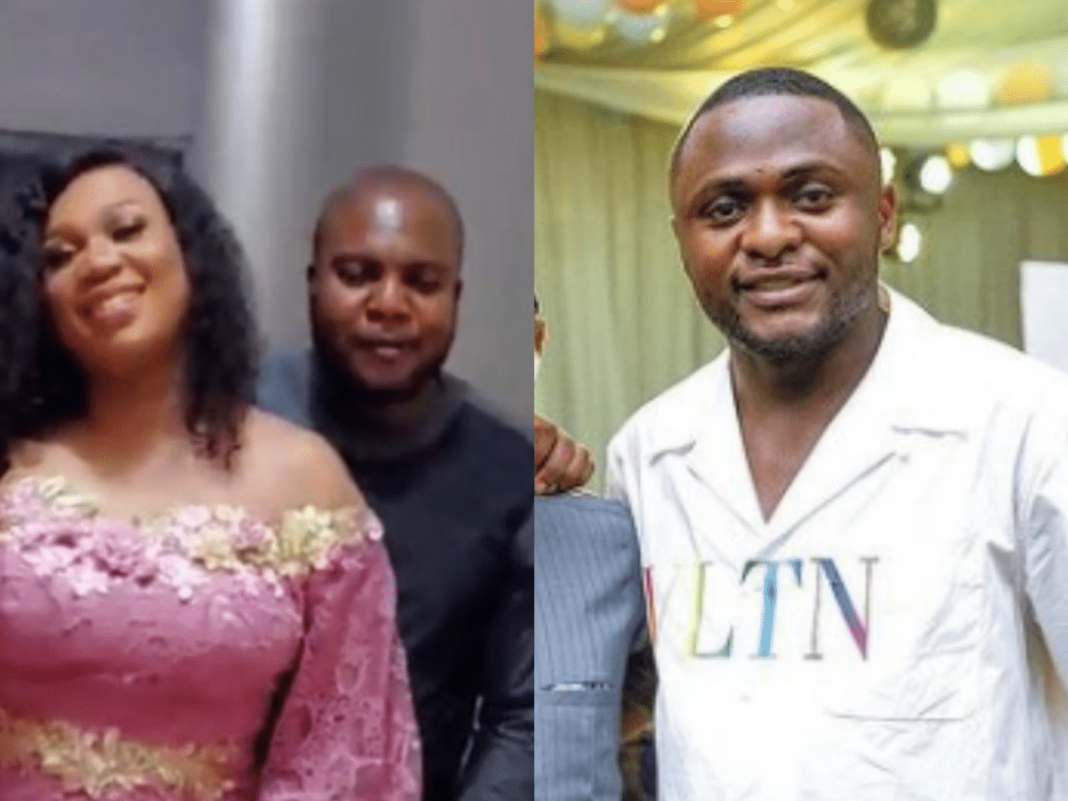 Businesswoman Sandra Iheuwa reacts after being told she's 'peppering' her baby daddy, Ubi Franklin with her honeymoon photos and videos