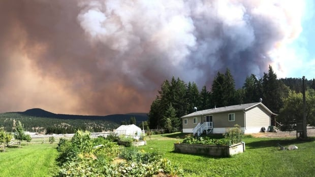 Some evacuation orders, alerts near massive B.C. wildfire downgraded