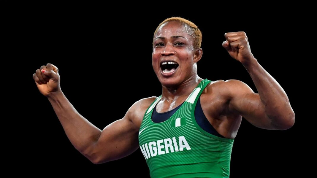 Tokyo Olympics: Blessing Oborududu loses final in wrestling, wins Nigeria's first silver