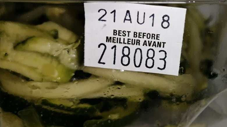 Zucchini noodles recalled in various provinces