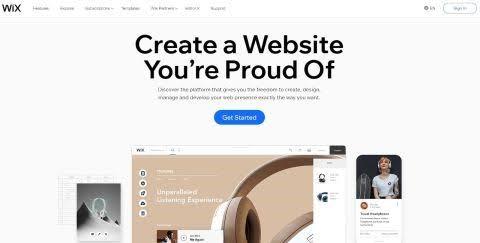 Best Website Builders wix