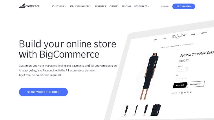 Best Website Builders bigcommence