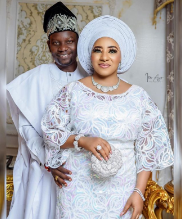 Actors Mide Martins and husband, Afeez Abiodun celebrate 17th wedding anniversary