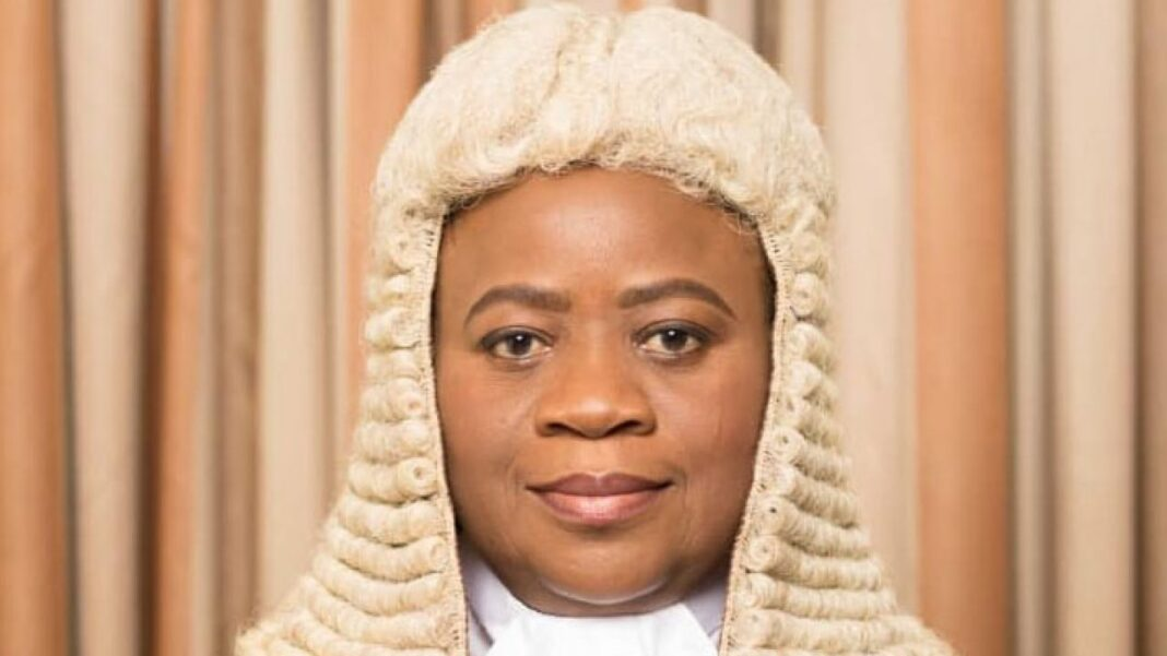 Court of Appeal, Justice Monica Dongban-Mensem bemoans poor salary of Nigerian Judges
