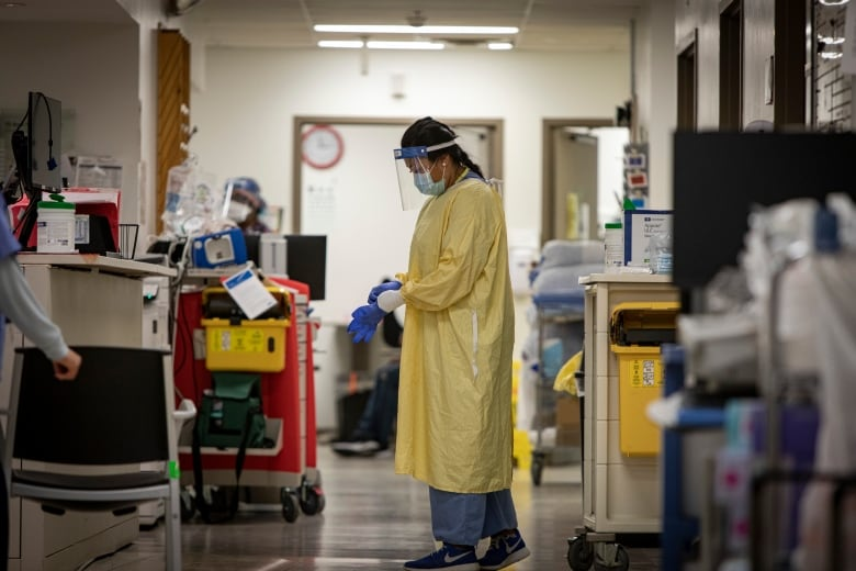Canada was already desperately short of nurses before COVID-19. Now nurses say they're hanging on by a thread